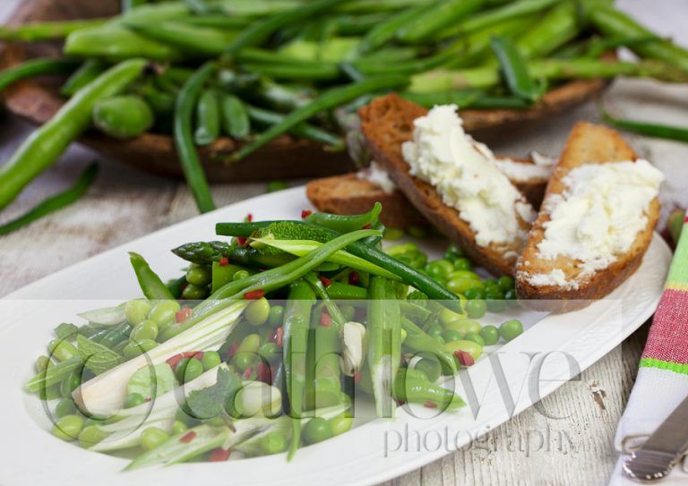 Delicious food from a recent shoot
