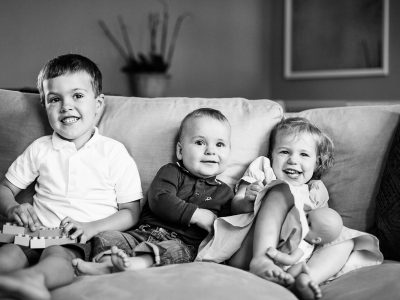 Black & White Family Photography