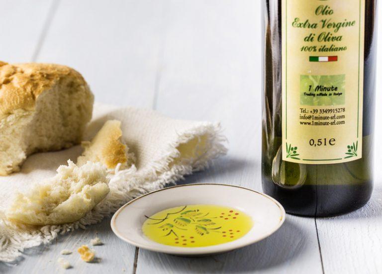 Peppery fresh extra virgin olive oil