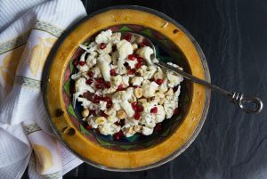 009_Cauliflower pomegranite hazelnut salad_4747