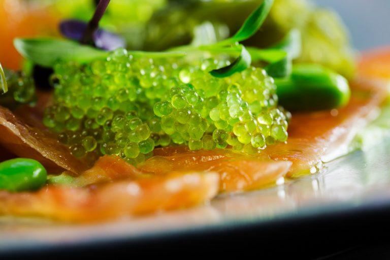 Yuzu & Smoked Salmon – delicious