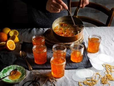 Time to get very sticky – making marmalade