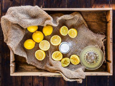 Making Fresh Lemonade