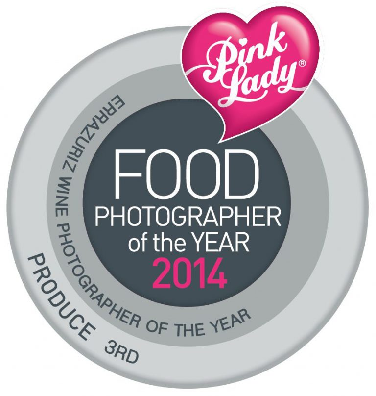 Third Place & Finalist in Pink Lady Food Photographer of the Year 2014