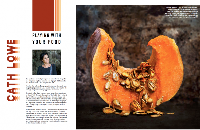 Thrilled to be interviewed in the Big Ezine on Food Photography